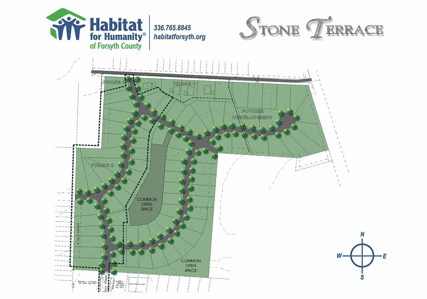 Development - Stone Terrace Phased Map-Habitat